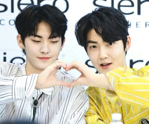 kevin, hwall, and kpop image
