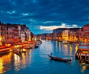 italy, venice, and light image