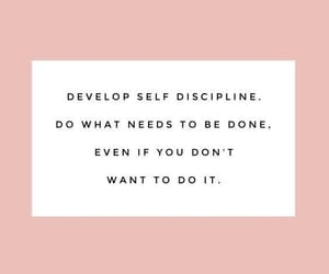 motivation, work, and self discipline image