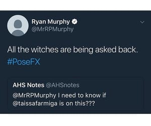 coven, ryan murphy, and ahs 8 image