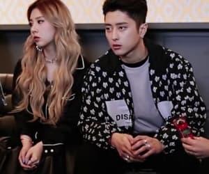 couple, jiwoo, and somin image