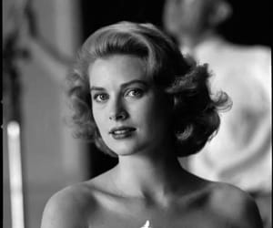 b&w, grace kelly, and vintage image
