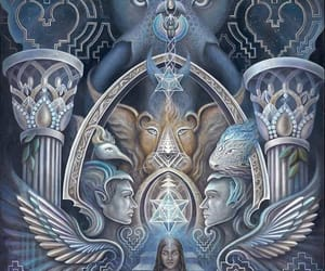 ancient, ascension, and occult image