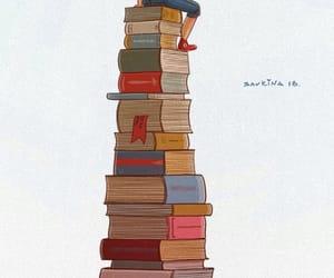 books, boy, and Mc image