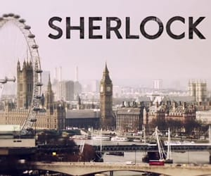 legend, sherlock, and tv series image