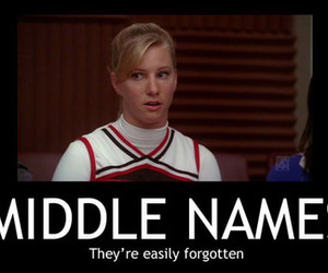 brittany, glee, and heather morris image