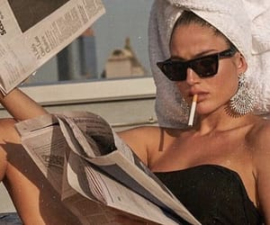 vintage and cigarette image