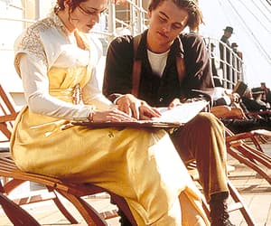 blue eyes, fashion, and jack dawson image