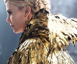 blonde hair, fashion, and ravenna image
