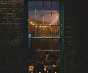 light, window, and vintage image