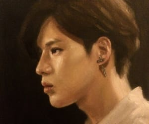 fanart, kpop, and painting image