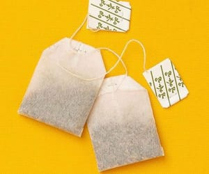 bag, tea, and tea bags image