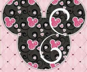 disney, hearts, and minnie image