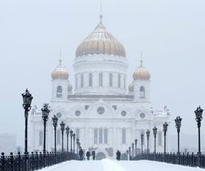 moscow, places, and snow image