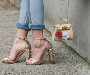 blogger, fashion, and flower image