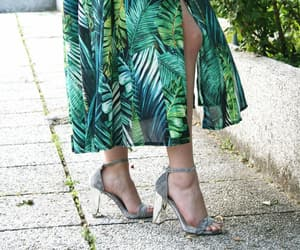 blogger, chic, and green image