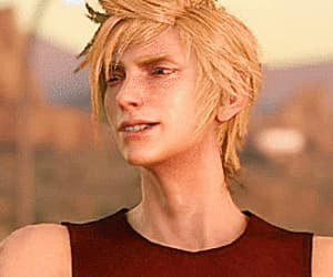 final fantasy, gif, and prompto image