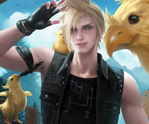 final fantasy, ffxv, and chocobo image