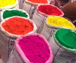 colour, india, and wanderlust image