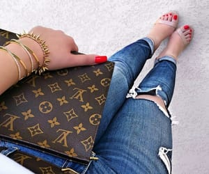 fashion, girl, and hermes image
