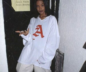 aaliyah and 90s image