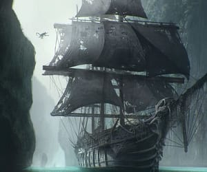 pirate and ship image