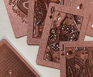 rose gold, cards, and pink image