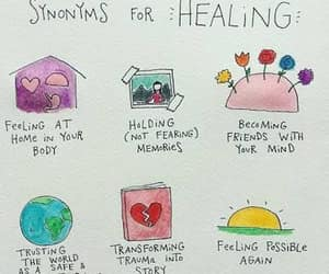 moving on, heal, and healing image