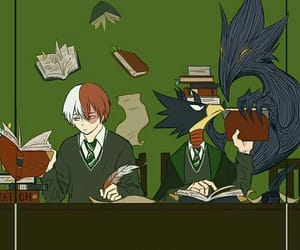 hogwarts, slytherin, and bnh image