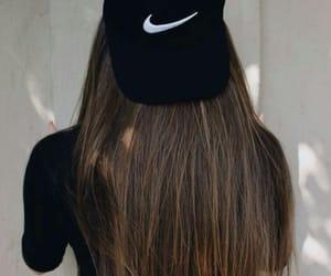 nike, hair, and tumblr image