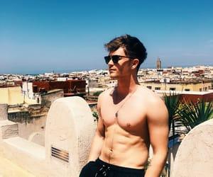 morocco, shirtless, and sunglasses image
