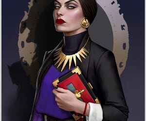 disney, evil queen, and snow white image