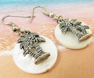 etsy, beach jewelry, and dangle earrings image