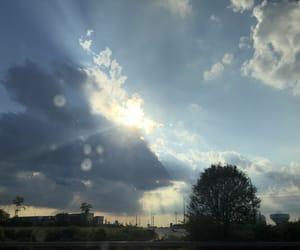 beautiful, clouds, and sunshine image