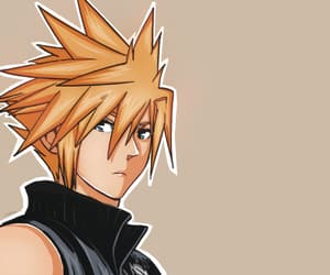 final fantasy VII, kingdom hearts, and manga image