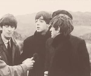 george harrison, Paul McCartney, and gif image