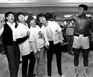 muhammad ali and the beatles image