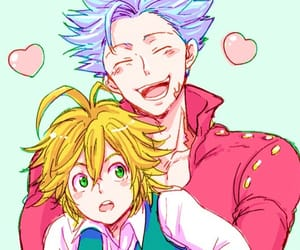 ban, nanatsu no taizai, and meliodas image