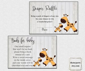 etsy, baby shower ideas, and baby shower image