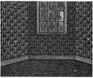 edward gorey and window image