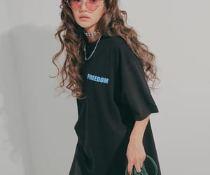 beauty, model, and stylenanda image