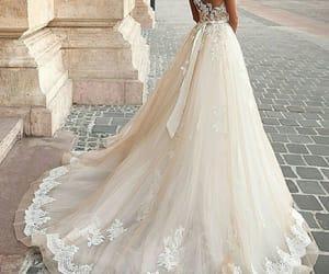 bride, dress, and flair image