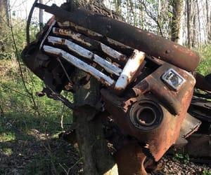 antique, car, and rust image
