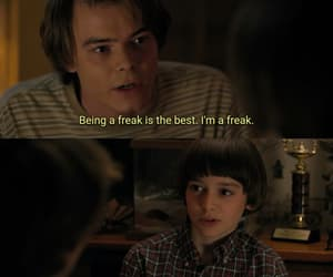 stranger things, will byers, and charlie heaton image