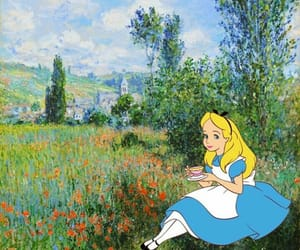 alice, alice in wonderland, and cartoon image