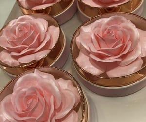 pink, rose, and makeup image