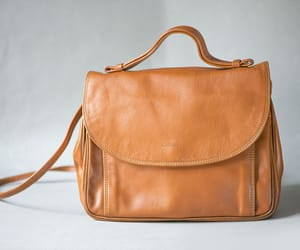 etsy, sustainable fashion, and genuine leather bag image