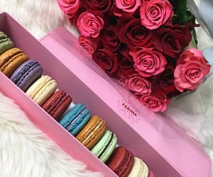 colorful, macaroons, and pretty image