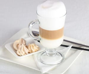 coffee, creamy, and latte image