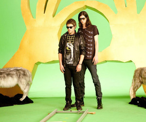 3OH!3 and my first kiss image
